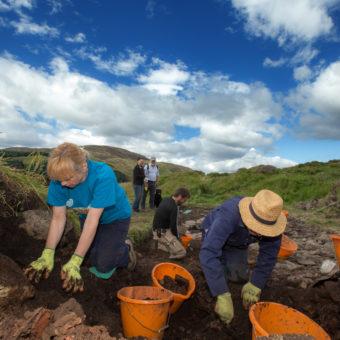 Dun Deardail Archaeological Dig Glen NevisPic Peter Devlin