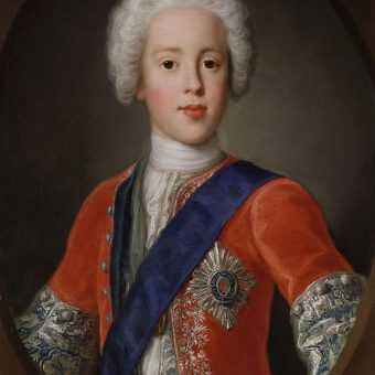 "Painting by Antonio David ""Prince Charles Edward Stuart"""